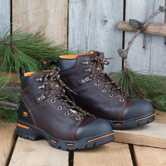 Lace-up Safety-Toe Boots