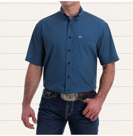 Cinch Arenaflex Cobalt Canyon Shirt
